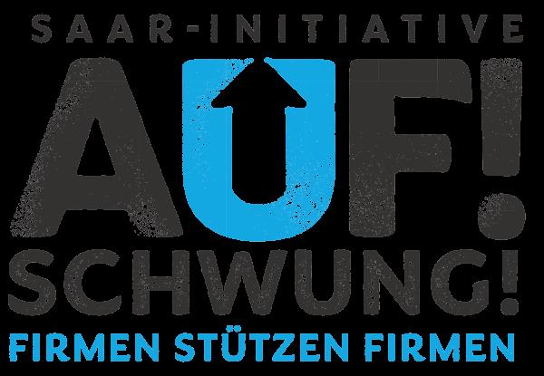 Logo Auf! Schwung! mit Beschriftung