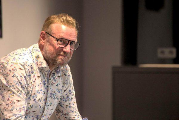 """Patrick Schillo beim Auf! Schwung!-Workshop """"Raus aus der Resignation - rein in die Ideenvielfalt"""""""
