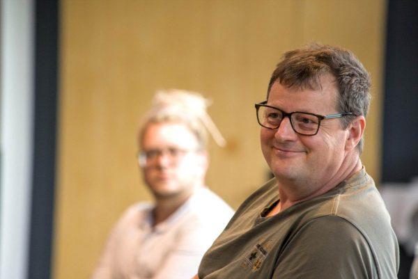 """Herr Jost-Jacobi beim Auf! Schwung!-Workshop """"Raus aus der Resignation - rein in die Ideenvielfalt"""""""