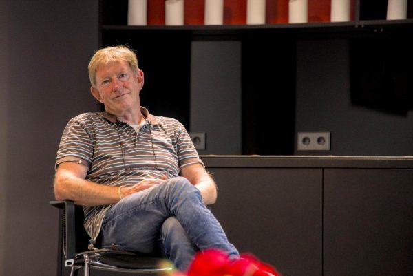 """Gerhard Hoff beim Auf! Schwung!-Workshop """"Raus aus der Resignation - rein in die Ideenvielfalt"""""""